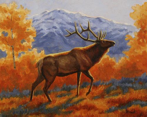 Deers in autumn - Deer Wallpaper ID 1224961 - Desktop Nexus ...